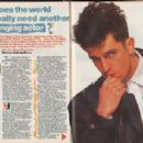 Rupert Everett - Smash Hits Magazine Pictorial [United Kingdom] (20 May 1987)