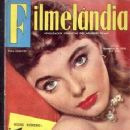 Joan Collins - Filmelandia Magazine Cover [Brazil] (November 1956)