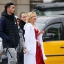 Cate Blanchett – Shoot a new campaign for Giorgio Armani in Barcelona - 454 x 671