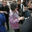 Lucy Hale out in New York City