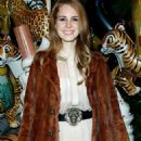 Lana Del Rey At the Mulberry Spring/Summer 2012 Dinner