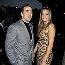 Kristen Zang and Nicolas Cage Photograph