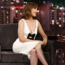 Alison Brie on Jimmy Kimmel Live Show in LA