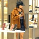 Vanessa Hudgens – Shopping at Neiman Marcus in Beverly Hills