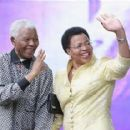 Nelson Mandela and Graca Machel