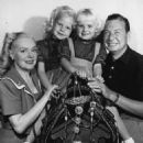Alice Faye and Phil Harris with their two daughters, Alice and Phyllis, in 1948