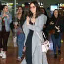 Nina Dobrev – Roissy Charles de Gaulle Airport in Paris 03/02/2019