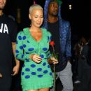 Amber Rose and Terrence Ross - 454 x 728