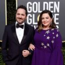 Ben Falcone and Melissa McCarthy At The 76th Annual Golden Globes (2019) - 454 x 590