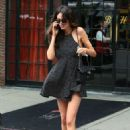 Nicole Trunfio Leaves Her Hotel In Nyc