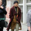 Vanessa Hudgens – Filming 'Second Act' in Soho - 454 x 681