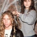 James Hetfield and Teresa Haynes