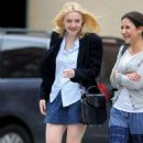 Dakota Fanning was spotted out and about in New York City today, September 11