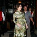 Dakota Johnson–Leaving her hotel in New York