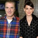 Winona Ryder and Chris Noth