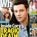 Cory Monteith - Who Magazine Cover [Australia] (29 July 2013)