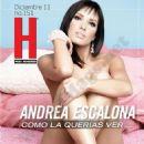 Andrea Escalona - Hombre Magazine Pictorial [Mexico] (December 2011)