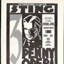 "STING  In the musical ""The Three Penny Opera"""