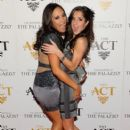Cheryl Burke and Kelly Monaco celebrate New Year's Eve at Simon Hammerstein's The ACT Las Vegas at Shoppes at The Palazzo on Dec. 31, 2012
