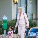 Brigitte Nielsen – With her family for her 57th birthday