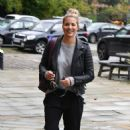Gemma Atkinson – Arriving at Hits Radio in Manchester - 454 x 717