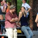 Keira Knightley on the set of 'Can a Song Save Your Life?' in NYC (July 26)