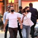 Katie Holmes – With boyfriend Emilio Vitolo leaving Dekor NYC Furniture Store