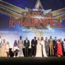 Los Angeles World Premiere Of Marvel Studios' 'Captain Marvel' - 454 x 298