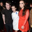 Dylan Minnette, Millie Bobby Brown and Katherine Langford - 2017 MTV Movie Awards