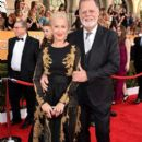 Helen Mirren and Taylor Hackford: 20th Annual Screen Actors Guild Awards - Red Carpet