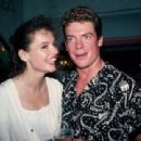 Geena Davis and Christopher McDonald
