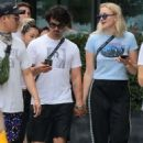 Sophie Turner and Joe Jonas – Head to Sant Ambroeus for lunch in New York City