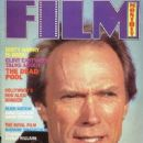 Clint Eastwood - Film Monthly Magazine Cover [United Kingdom] (April 1989)