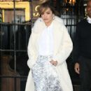 Rita Ora in White Coat – Out and about in New York City - 454 x 752