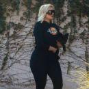 Bebe Rexha – Arrives at a studio in Los Angeles