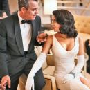 Danny Huston and Jessica Marais