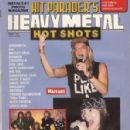 Jani Lane - Hit Parader Hot Shots Magazine Cover [United States] (August 1990)