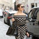 Olivia Culpo – Out in Paris