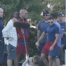 Dwayne Johnson- February 22, 2016-Zac Efron & The Rock on the Set of 'Baywatch' in Florida