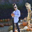 Cara Santana -Seen at Pumpkin Patch In Los Angeles - 454 x 585