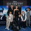 "Angelina Jolie and Brad Pitt - ""Maleficent"" World Premiere (May 28, 2014)"