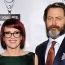 Megan Mullally and Nick Offerman - 454 x 287