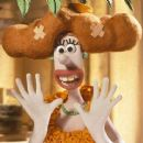 Lady Tottington (voiced by Helena Bonham Carter ) in DreamWorks Animation's Wallace & Gromit: The Curse of the Were-Rabbit - 2005