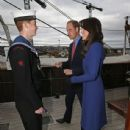 Catherine, Duchess of Cambridge, Prince William Windsor visit Dundee on October 23, 2015 - 437 x 600