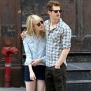Andrew Garfield and Emma Stone out in NYC (May 31)