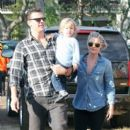 Ali Larter: at the Mister Bone's pumpkin patch in Los Angeles