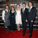 Sam Heughan,Caitriona Balfe, Tobias Menzies, the Writer Diana Gabaldon and the producer Ronald D.Moore - 'OUTLANDER' SCREENING IN NYC - 454 x 437