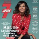 Karine Le Marchand - Télé 7 Jours Magazine Cover [France] (1 December 2018)