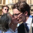 Ellie Goulding at her wedding to to Caspar Jopling in York - 454 x 345