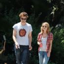Emilie De Ravin - Emilie And Robert Pattinson Shooting Remember Me - June 30th 2009